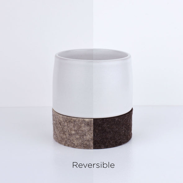 Curve Tea White Cup & Rolocoaster (each)