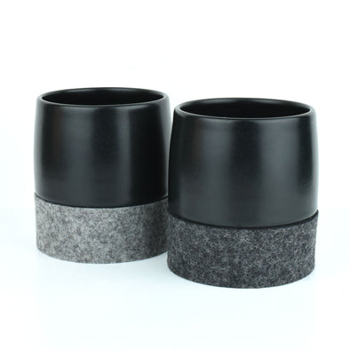 Curve Tea Black Cup & Rolocoaster (each)