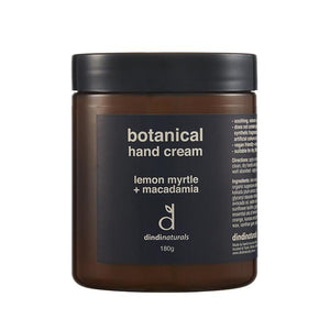 Hand Cream 180g Jar | Lemon Myrtle & Macadamia