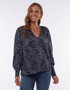 Kaiya Top | Navy