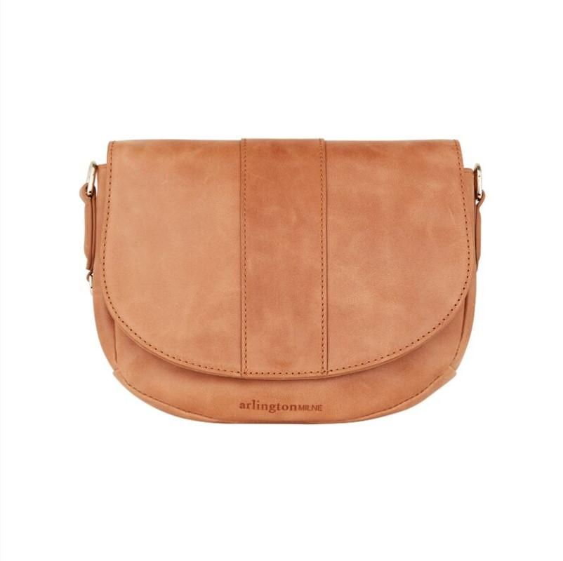 Zara Saddle Bag | Vintage Tan
