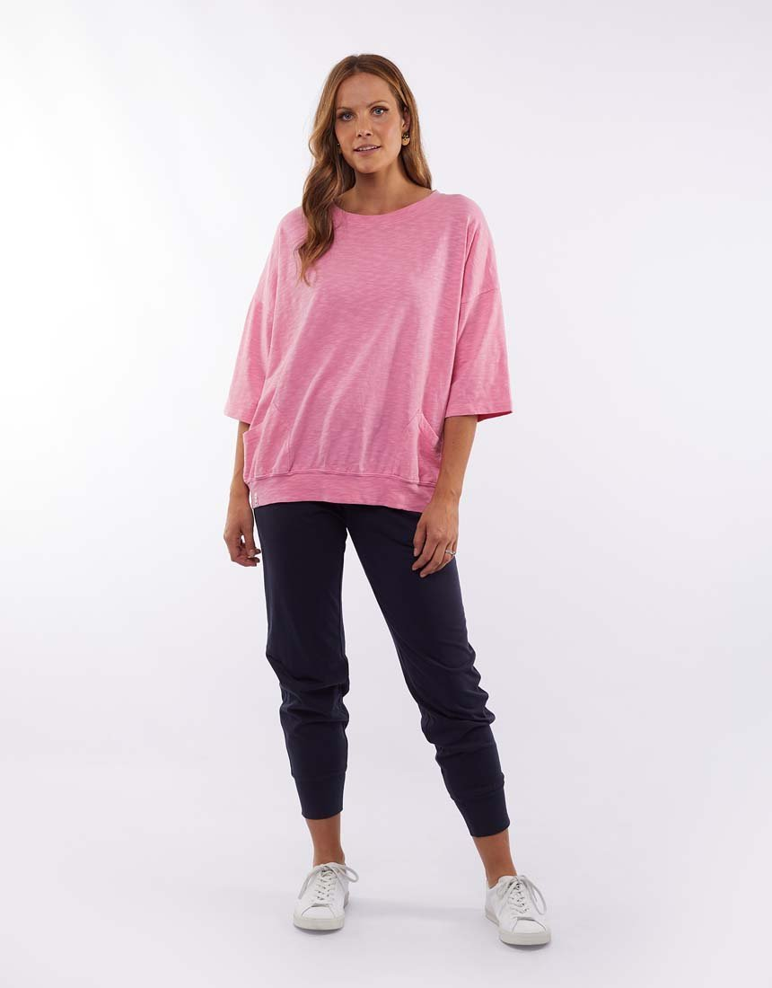 Fundamental Maizie Sweat | Bubblegum Pink