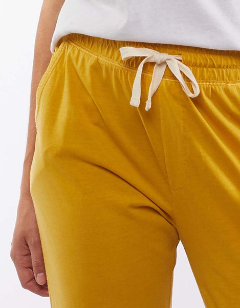 Wash Out Lounge Pant | Mustard
