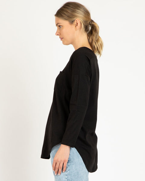 Phoebe Top | Black