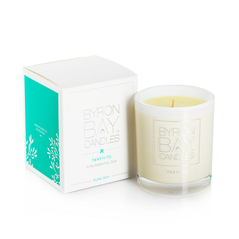 Festivity Pure Essential Oil Candle | 50hr Burn
