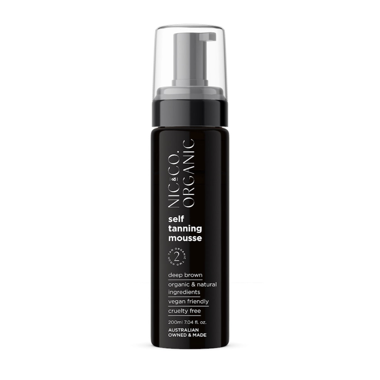 Nic & Co organic self tanning mousse elsie and florence