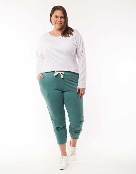 Wash Out Lounge Pant | Sage Green