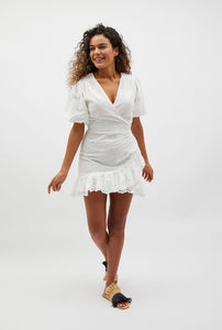 Marlowe Broidery Mini Dress