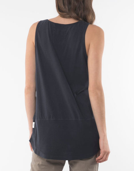 Fundamental Rib Tank | Navy