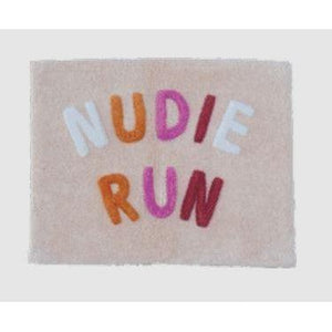 Nudie Run Bath Mat | Peach
