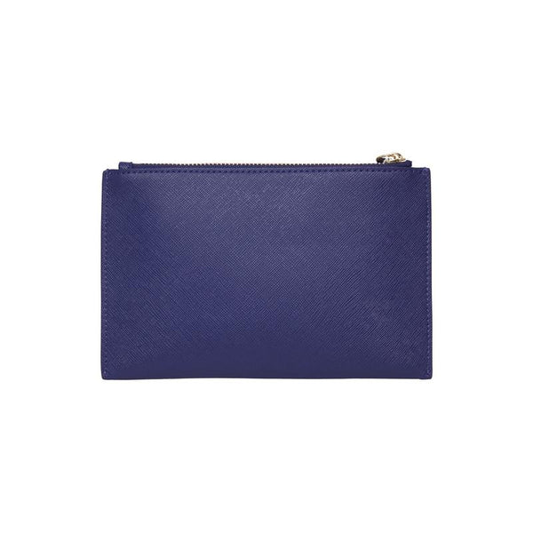 New York Coin Purse | Navy Saffiano