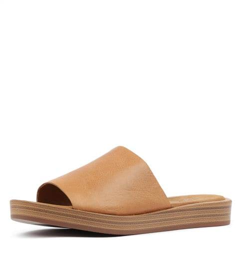 Farron | Tan Leather
