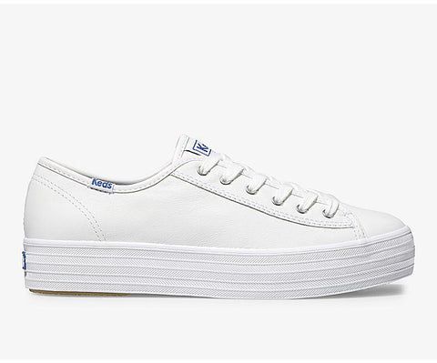Triple Kick Leather  | White