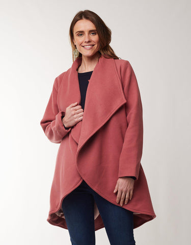 Abigail Coat | Rose