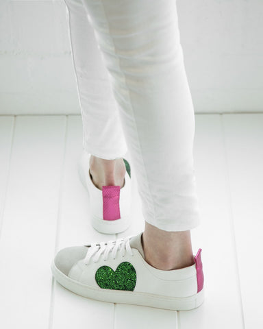 Heart Leather Sneaker