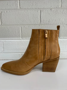 Majesty Boot | Tan Leather