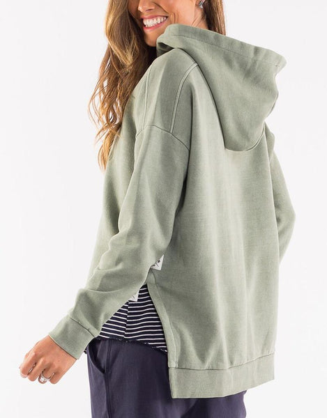 Fundamental Split Hoody | Khaki