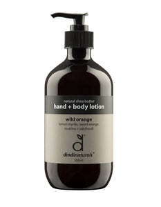 Hand & Body Lotion 500ml | Wild Orange