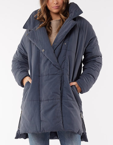 Everyday Puffer Jacket | Blue