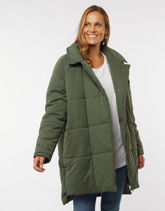 Everyday Puffer Jacket | Khaki