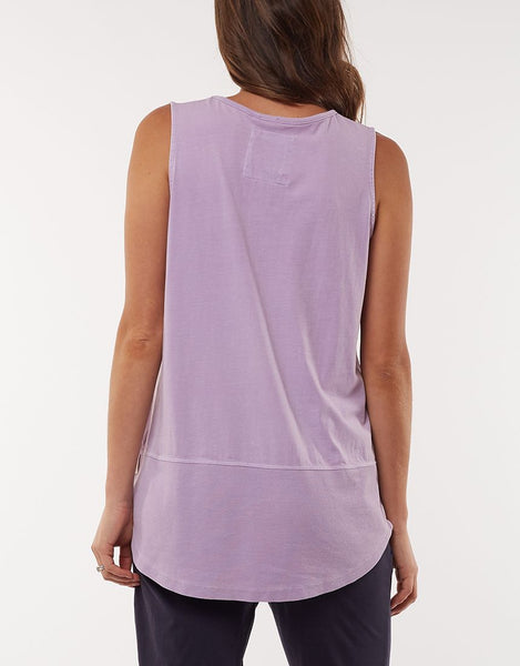 Fundamental Rib Tank | Lilac