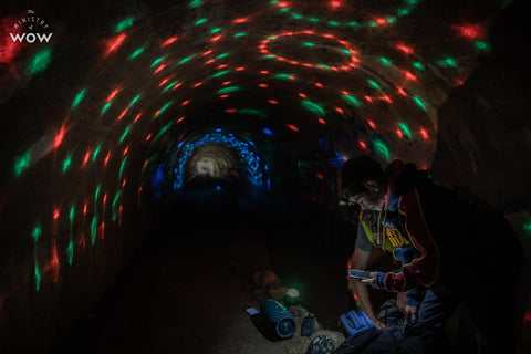 The party tunnel