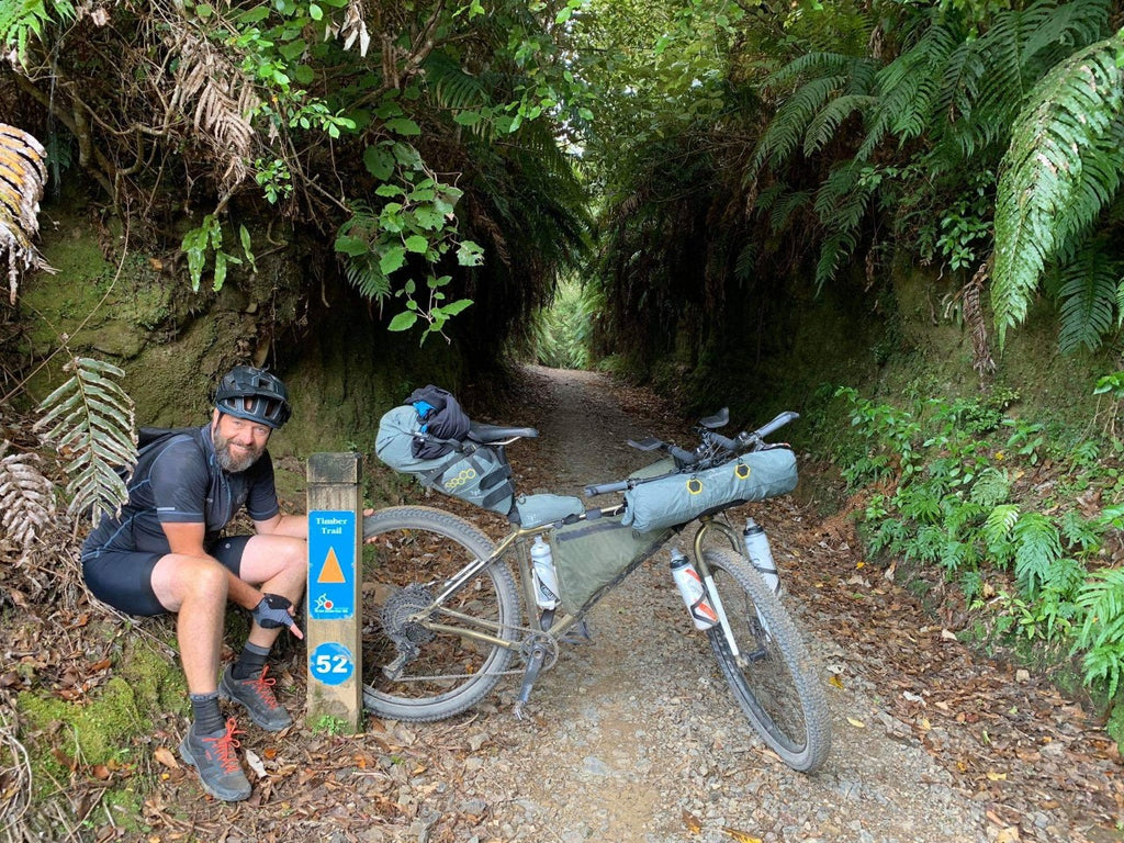Bikepacking New Zealand's Tour Aotearoa was challenging