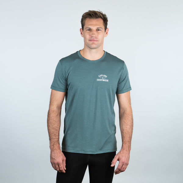 Men's merino wool t-shirt