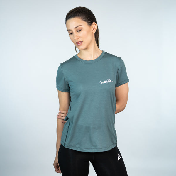 Women's merino wool t-shirt