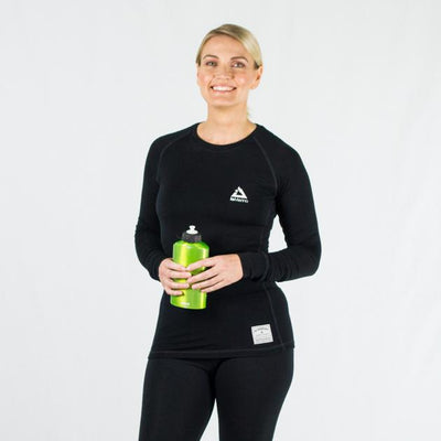 Women's Altitude Crew Neck Merino Wool Base Layer Thermal | ioMerino