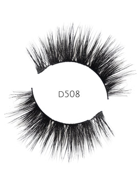 5D 08 Luxury Mink Strip Lashes (Vegan)