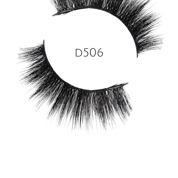 5D 06 Luxury Mink Strip Lashes (Vegan)