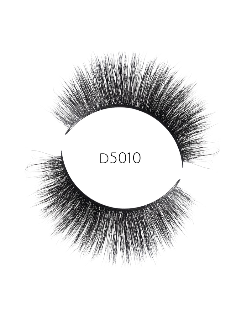 5D 10 Luxury Mink Strip Lashes (Vegan)