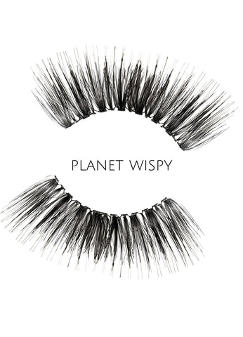 Wispy Planet Human Hair Strip Lashes