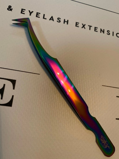 Fine Tip Rainbow Volume Tweezer