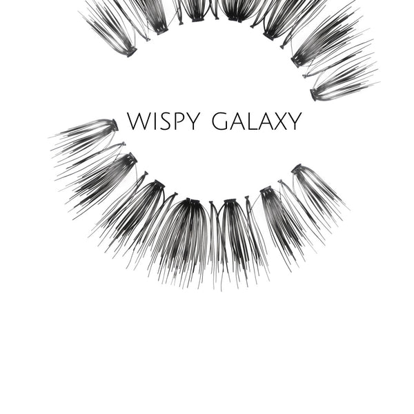 Wispy Galaxy Human Hair Strip Lashes