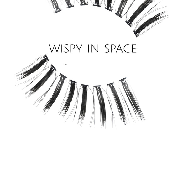 Wispy In Space Human Hair Strip Lashes