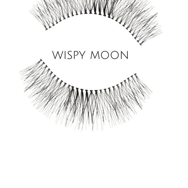 Wispy Moon Human Hair Strip Lashes