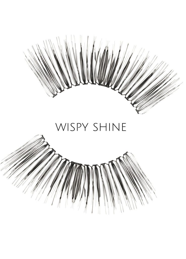 Wispy Shine Human Hair Strip Lashes