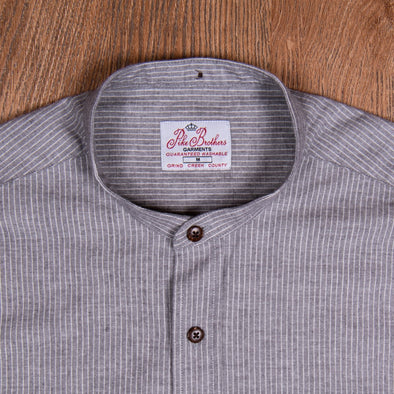 1923 Buccanoy Shirt Harper Grey - Pike Brothers