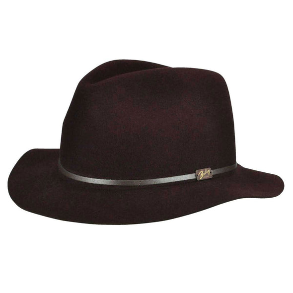 Jackman Hat, Burgundy - Baileys of Hollywood
