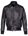Leather Bomber Jacket - Schott NYC