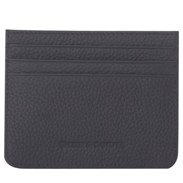 Card Holder Leather - Smith & Canova - Black