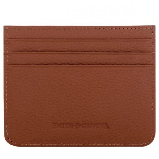 Card Holder Leather - Smith & Canova - Brown
