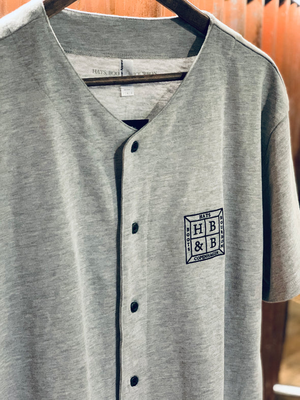 Baseball Shirt Grey - HB&B