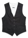 Blue de Genes - Aero Denim Black Gilet