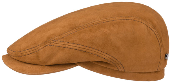 Stetson - Driver Cap Goat Suede Rust