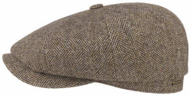 Stetson - Sixpence, Wool Herringbone Brown