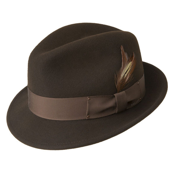 Tino Fedora Hat, Brown - Baileys