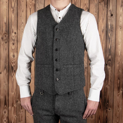 Hauler Vest Dundee Grey - Pike Brothers